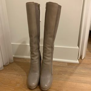 BCBGMAXAXRIA leather boots